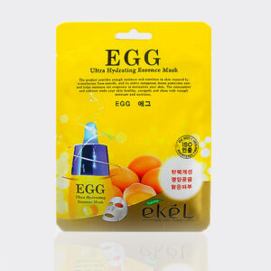 ماسک ورقهای عصاره زرده تخم مرغ اِکل