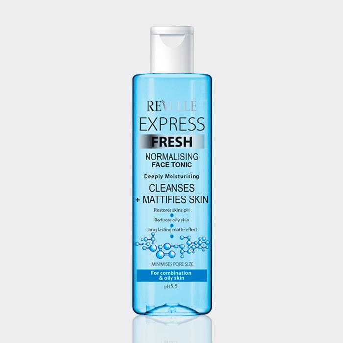 تونر پوست چرب و مختلط رووله ۲۵۰ میل مدل express fresh normalising face tonic