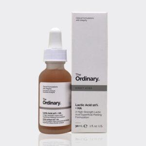 سرم لایه بردار و روشن کننده لاکتیک اسید 10% اوردینری ۳۰ میل