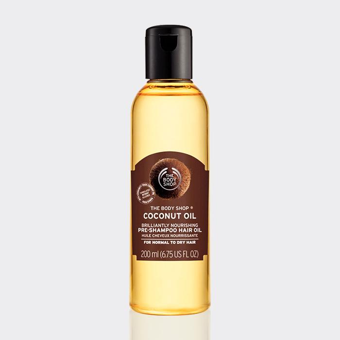 روغن نارگیل ترمیم کننده بادی شاپ مدل Coconut oil