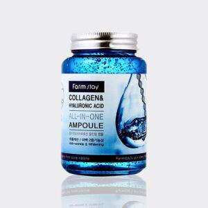 آمپول کلاژن و هیالورونیک اسید فارم استی