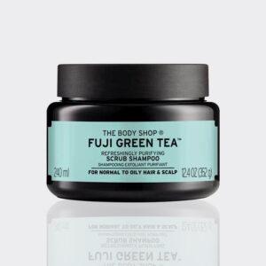 اسکراب کف سر چای سبز فوجی بادی شاپ