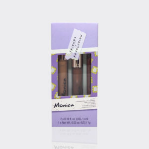 کیت لب مونیکا روولوشن مدل Revolution makeup Friends monica lip kit